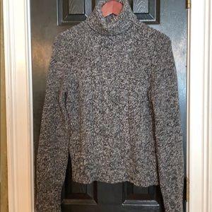 Express Black size large wool cashmere sweater